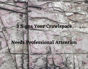 3 Signs Your Crawlspace Needs Professional Attention