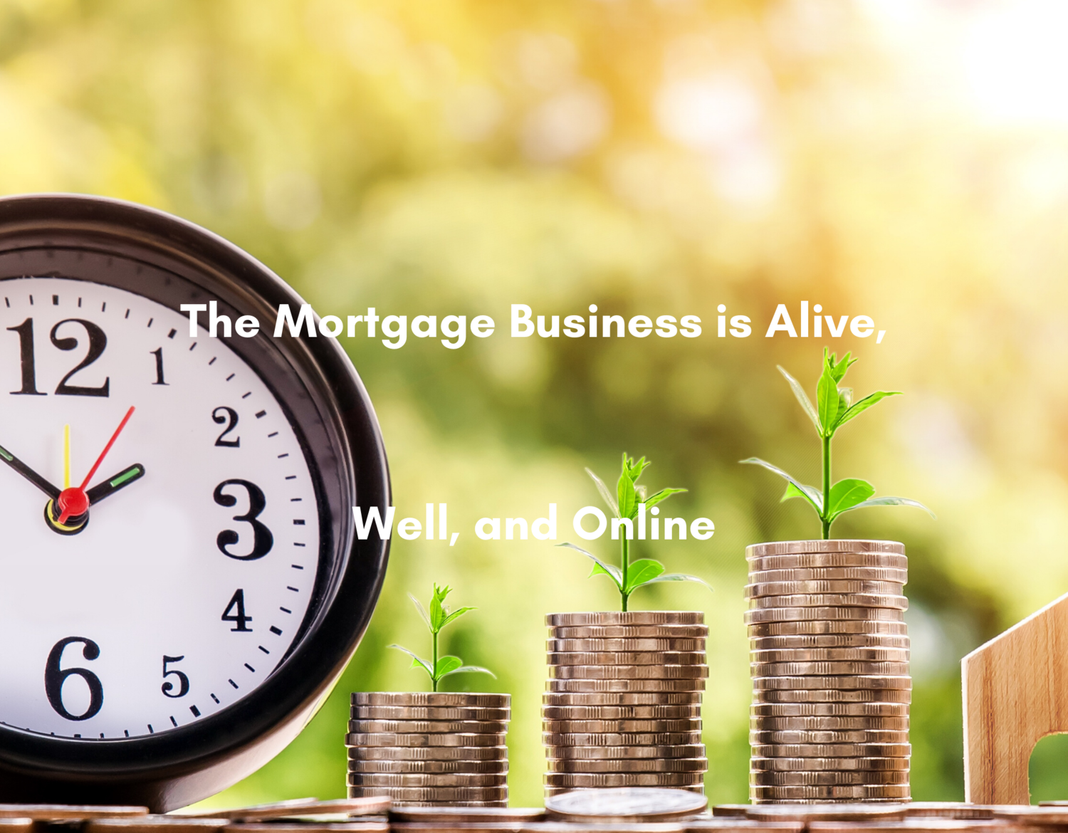 The Mortgage Business is Alive, Well, and Online