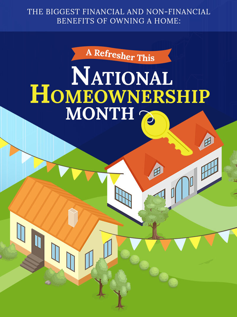 The Biggest Financial and Non-Financial Benefits of Owning A Home: A Refresher During This National Homeownership Month