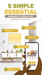 5 Simple but Essential Minimalist Design Tips To Embrace In Your Home