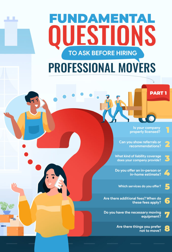 Fundamental Questions To Ask Before Hiring Professional Movers: Part 1